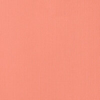 American Crafts - 12 x 12 Cardstock - Weave - Peach