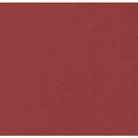 American Crafts - 12 x 12 Cardstock - Weave - Pomegranate