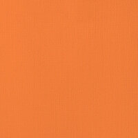 American Crafts - 12 x 12 Cardstock - Weave - Carrot