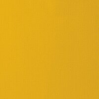 American Crafts - 12 x 12 Cardstock - Weave - Mustard