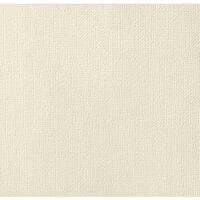 American Crafts - 12 x 12 Cardstock - Weave - Vanilla