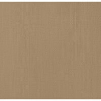American Crafts - 12 x 12 Cardstock - Weave - Caramel