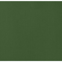 American Crafts - 12 x 12 Cardstock - Weave - Pine