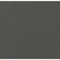 American Crafts - 12 x 12 Cardstock - Weave - Graphite