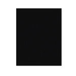 American Crafts - 8.5 x 11 Damask Cardstock Pack - 25 Sheets - Black