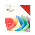 American Crafts - 12 x 12 Cardstock Pack - 60 Sheets - Primaries