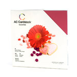 American Crafts - 12 x 12 Cardstock Pack - 60 Sheets - Valentine