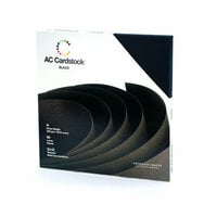 American Crafts - 12 x 12 Cardstock Pack - 60 Sheets - Black