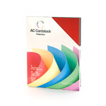 American Crafts - 8.5 x 11 Cardstock Pack - 60 Sheets - Primaries