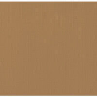 American Crafts - 12 x 12 Cardstock - Weave - Dark Kraft