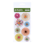 American Crafts - City Park Collection - Delights - 3 Dimensional Stickers - Swing, CLEARANCE