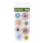 American Crafts - City Park Collection - Delights - 3 Dimensional Stickers - Slide, CLEARANCE