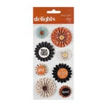 American Crafts - Nightfall Collection - Halloween - Delights - 3 Dimensional Stickers - Spells