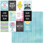 BoBunny - Summer Mood Collection - 12 x 12 Double Sided Paper - Beat the Heat