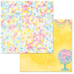 BoBunny - Summer Mood Collection - 12 x 12 Double Sided Paper - Let's Go