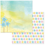 BoBunny - Summer Mood Collection - 12 x 12 Double Sided Paper - Surprise