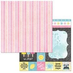 BoBunny - Summer Mood Collection - 12 x 12 Double Sided Paper - Sweet