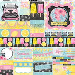 BoBunny - Summer Mood Collection - 12 x 12 Cardstock Stickers - Combo