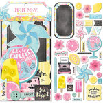 BoBunny - Summer Mood Collection - Noteworthy Journaling Cards