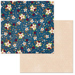 Bo Bunny - Stay Awhile Collection - 12 x 12 Double Sided Paper - Stay Awhile