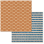 Bo Bunny - Stay Awhile Collection - 12 x 12 Double Sided Paper - Coffee