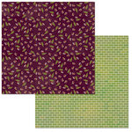 Bo Bunny - Stay Awhile Collection - 12 x 12 Double Sided Paper - Relax