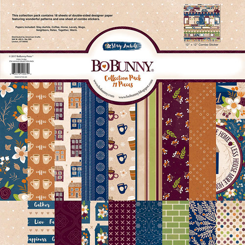 Bo Bunny - Stay Awhile Collection - 12 x 12 Collection Pack