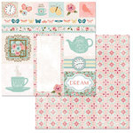 BoBunny - Early Bird Collection - 12 x 12 Double Sided Paper - Arrival