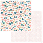 BoBunny - Early Bird Collection - 12 x 12 Double Sided Paper - Flutter