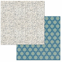 BoBunny - Early Bird Collection - 12 x 12 Double Sided Paper - Notes