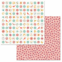 BoBunny - Early Bird Collection - 12 x 12 Double Sided Paper - Wild