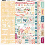 BoBunny - Early Bird Collection - 12 x 12 Cardstock Stickers - Combo