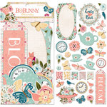 BoBunny - Early Bird Collection - Noteworthy Journaling Cards