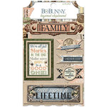 BoBunny - Once Upon a Lifetime Collection - Layered Chipboard Stickers
