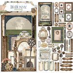 BoBunny - Once Upon a Lifetime Collection - Noteworthy Journaling Cards