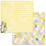 BoBunny - Cottontail Collection - 12 x 12 Double Sided Paper - Fun