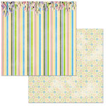BoBunny - Cottontail Collection - 12 x 12 Double Sided Paper - Happy