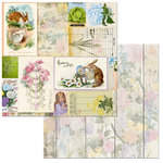 BoBunny - Cottontail Collection - 12 x 12 Double Sided Paper - Hippity Hop
