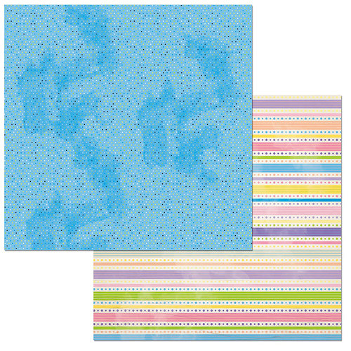 BoBunny - Cottontail Collection - 12 x 12 Double Sided Paper - Joy