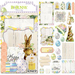 BoBunny - Cottontail Collection - Noteworthy Journaling Cards