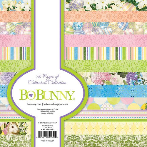 BoBunny - Cottontail Collection - 6 x 6 Paper Pad