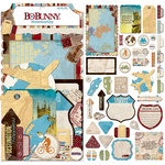 BoBunny - World Traveler Collection - Noteworthy Journaling Cards