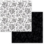 BoBunny - Black Tie Affair Collection - 12 x 12 Double Sided Paper - Black Tie