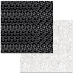 BoBunny - Black Tie Affair Collection - 12 x 12 Double Sided Paper - Diamonds