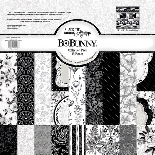 BoBunny - Black Tie Affair Collection - 12 x 12 Collection Pack