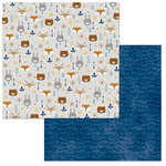 BoBunny - Little Wonders Collection - 12 x 12 Double Sided Paper - Alexander