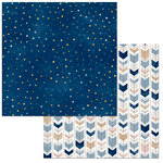 BoBunny - Little Wonders Collection - 12 x 12 Double Sided Paper - Elliot