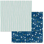 BoBunny - Little Wonders Collection - 12 x 12 Double Sided Paper - Evan