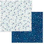 BoBunny - Little Wonders Collection - 12 x 12 Double Sided Paper - Jacob