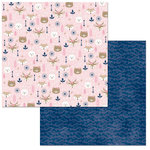 BoBunny - Little Wonders Collection - 12 x 12 Double Sided Paper - Olivia